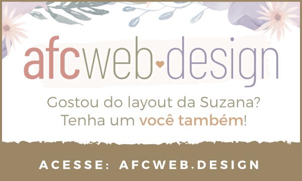 Design para blogs e sites Wordpress Por Ana Flávia Cador