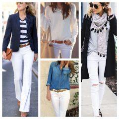 Usar calça branca no inverno! Combina!?!