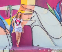 Look do dia com T-shirt e Shorts!!!