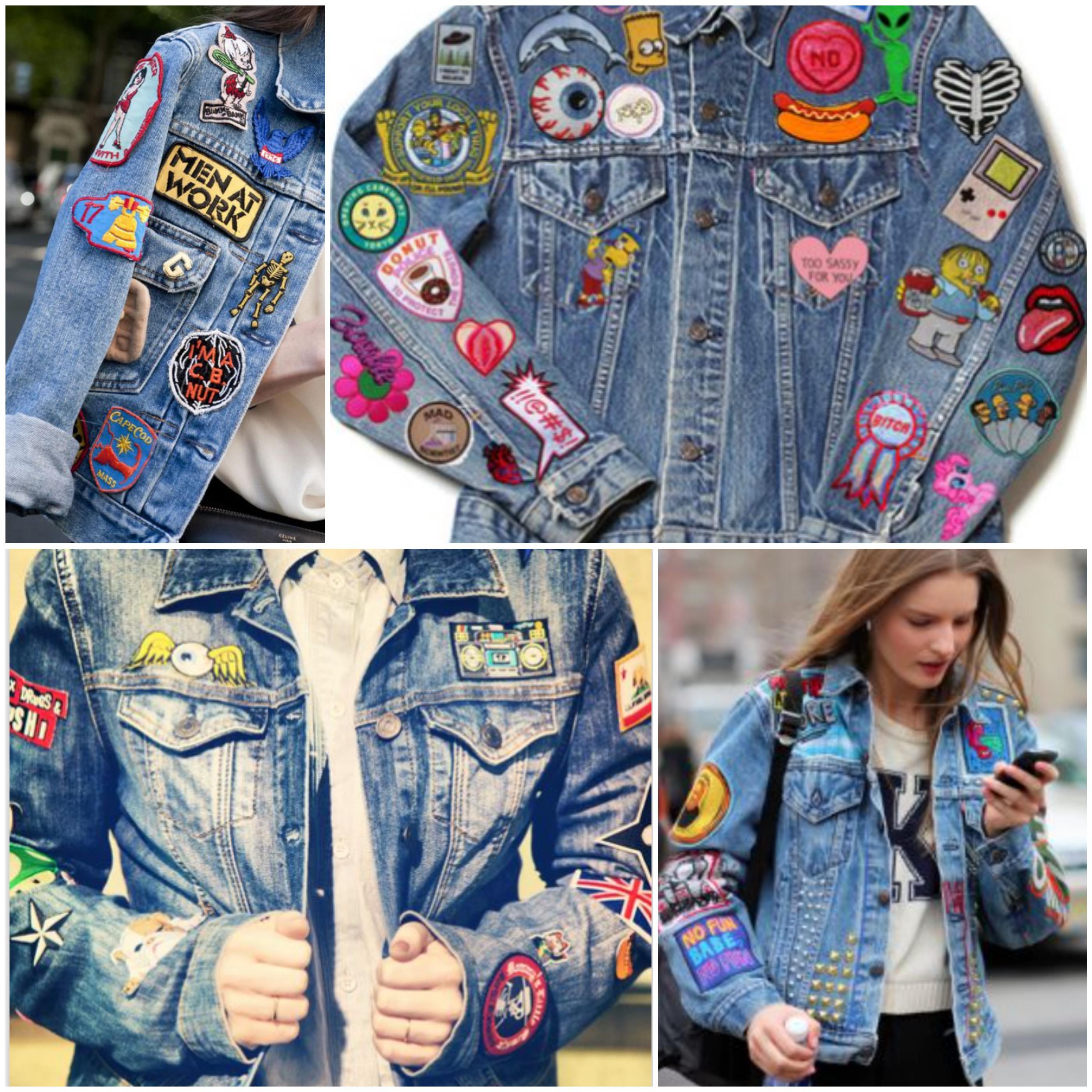 jaquetas patches