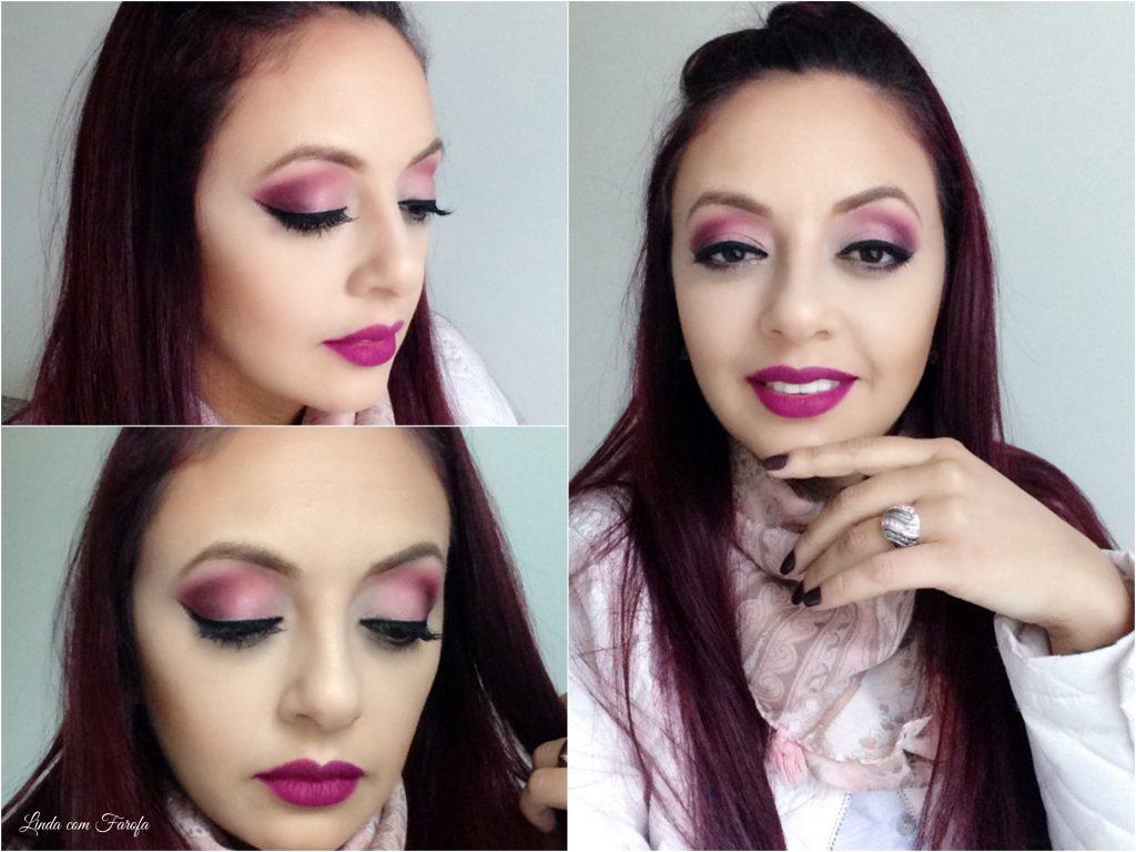 Maquiagem cor de Rosa_Fotor