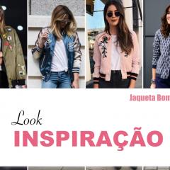 Look Inspiração: Como usar Jaqueta Bomber!
