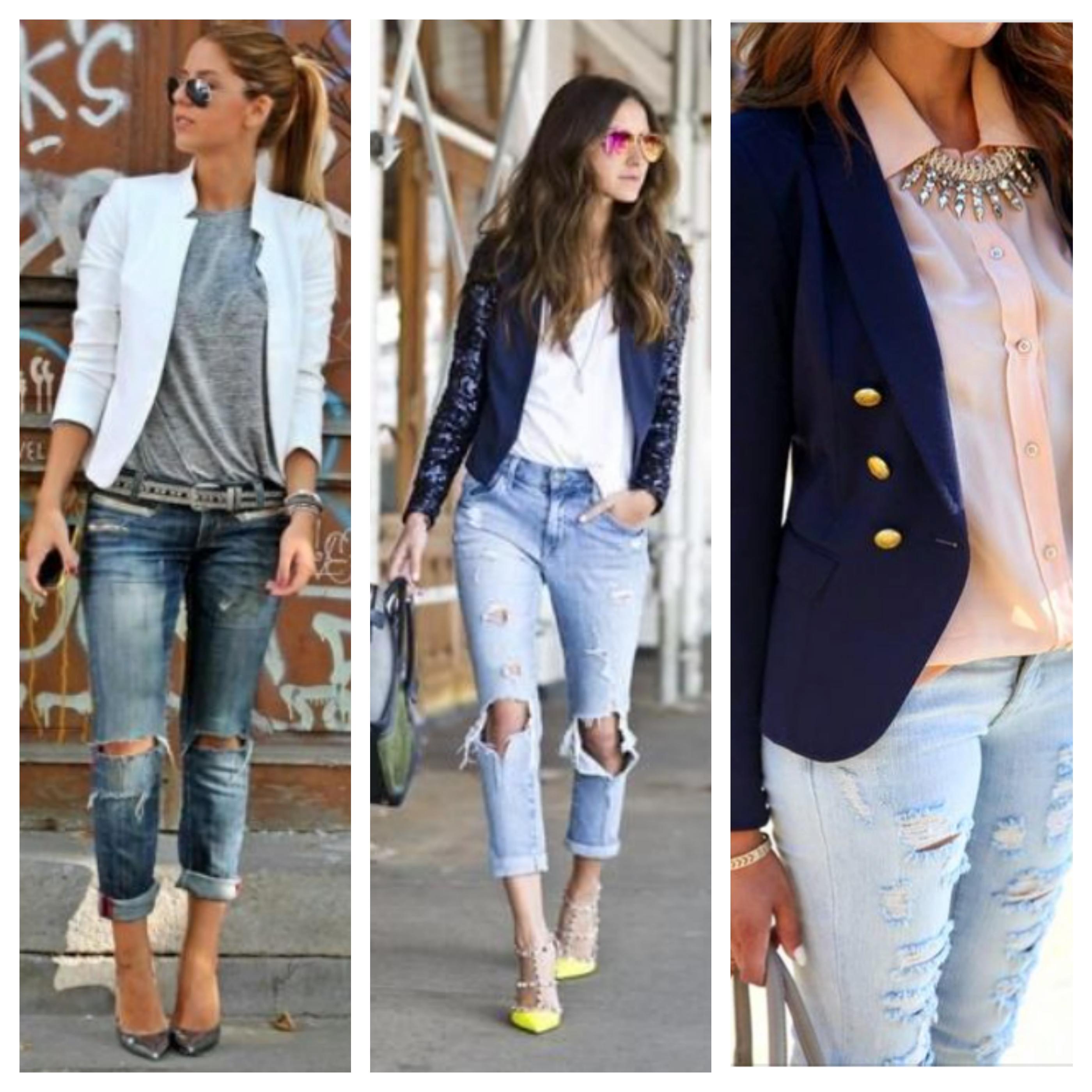Jeans ragasdo blazer