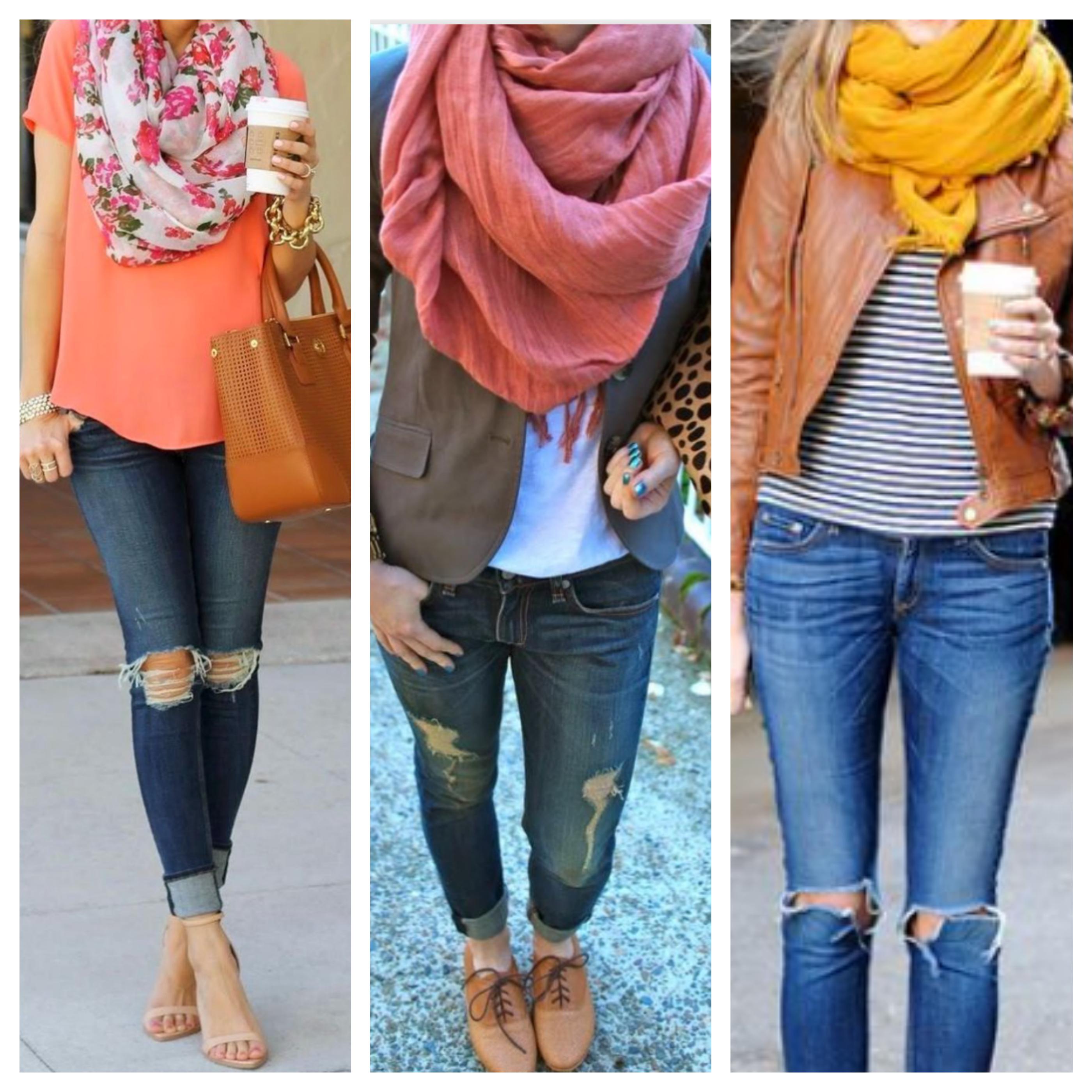 jeans lencos
