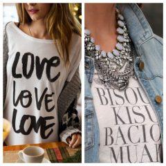 Eu Amo usar T-shirt!!!