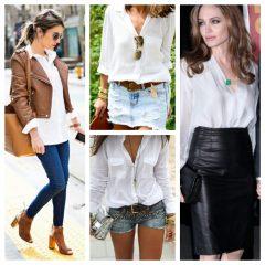 Eu amo Camisa Branca!!!