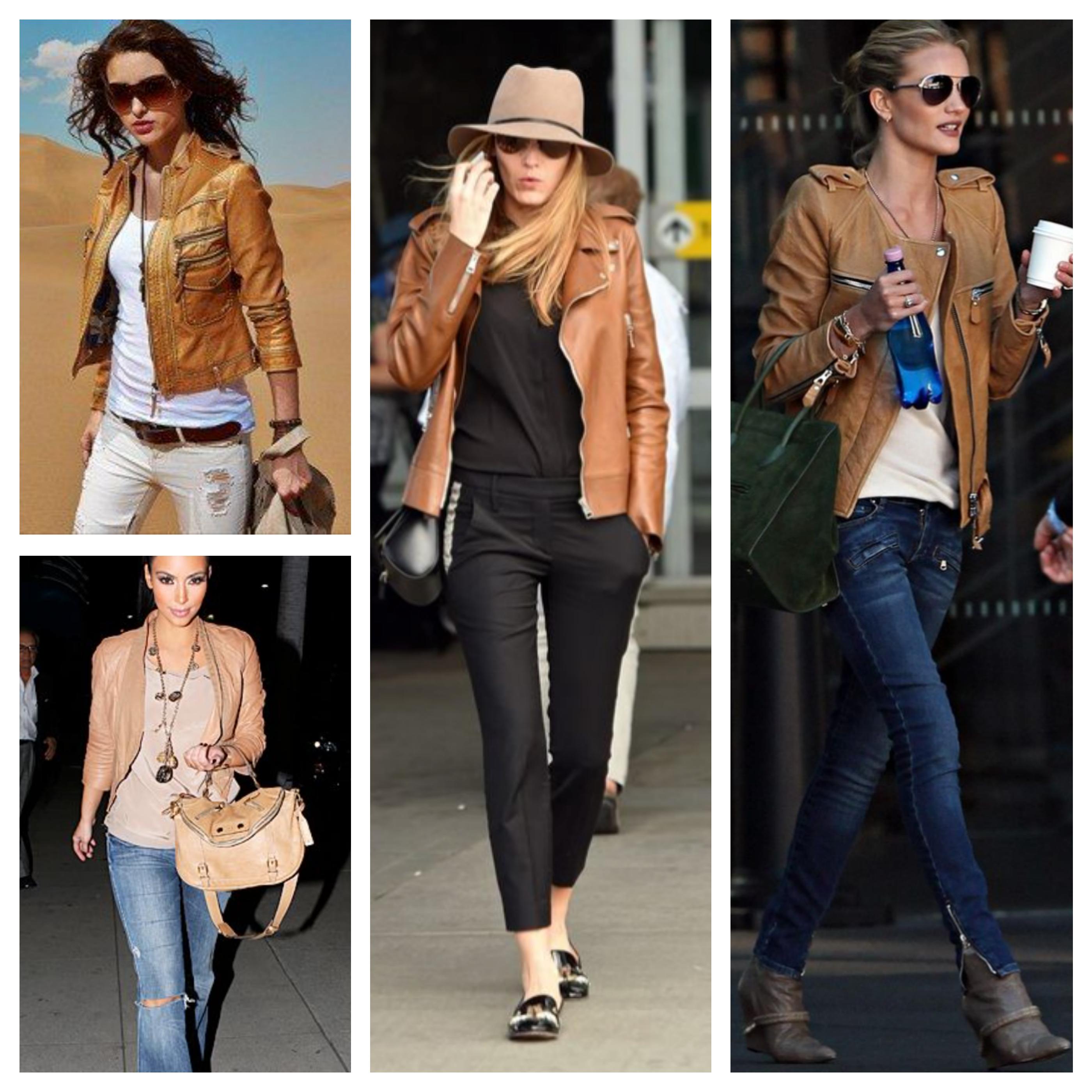 marrom jaquetas