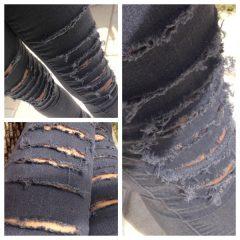 DIY – Como fazer uma Calça Destroyed!!!