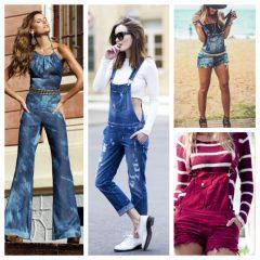 Look Inspiração – Macacão Jeans!