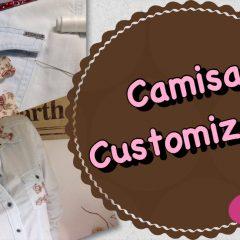 DIY – Customização de Camisa com Florzinhas ????